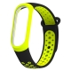Bracelete Xiaomi Mi Band 5 Desportiva Preto Verde