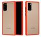 Capa Samsung Galaxy Note 20 Hibrida Shadow Vermelho