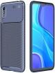 Capa Xiaomi Redmi 9A Gel Carbono Elegante Azul