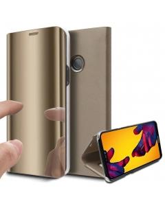 Capa Flip Smartcase Huawei P20 Pro Dourado