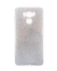 "Capa Gel Brilhantes Asus ZenFone 3 Max 5.5"" ZC553KL Prateada"