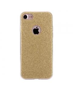 Capa Gel Brilhantes Iphone 8 Dourada