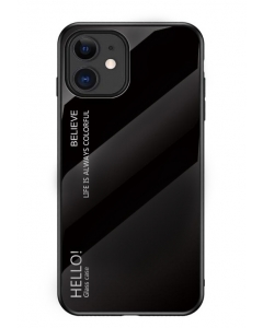 Capa Iphone 12 Forcell Glass Preto