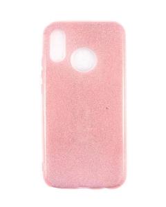 Capa Huawei P20 Lite Gel Brilhantes Alta Qualidade Rosa