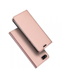 Capa Huawei Honor 10 Flip DX Rosa c/ Apoio