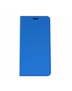Capa Samsung Galaxy J4 Plus 2018 Flip DX Azul c/ Apoio