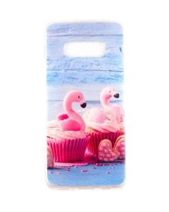 Capa Samsung S10e Gel Style Flamingos Candy