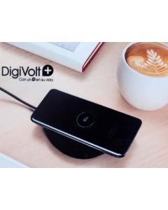 Carregador Wireless DigiVolt 10W Base Preta c/ Cabo USB