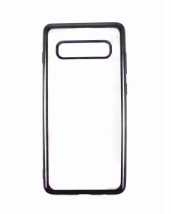 Capa Samsung S10 Plus Gel Ultra Slim Transparente / Preta