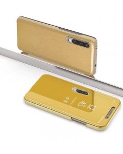 Capa Huawei P30 Flip S-View Dourado