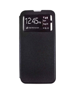 Capa LG K50 Flip Alta Qualidade Preta