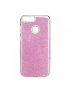 Capa Huawei P Smart Gel Brilhantes Alta Qualidade Rosa
