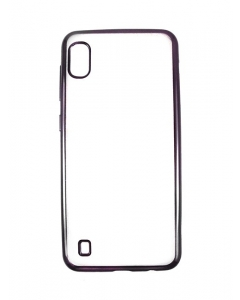 Capa Samsung Galaxy A10 Gel Ultra Slim Transparente / Preta