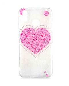 Capa Huawei Honor 10 Lite Gel Style Hearts Rosas