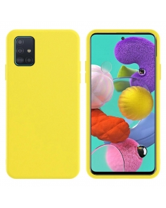 Capa Samsung Galaxy A51 Silky Amarelo