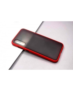 Capa Samsung Galaxy A50 Hibrida Shadow Vermelho