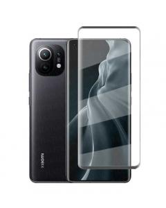 Película de Vidro Temperado 5D Full Xiaomi Mi 11 Preto