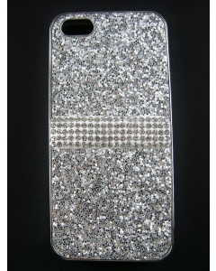 Capa Gel Brilhantes Iphone 5G Prateada
