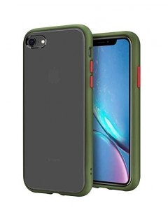 Capa Iphone SE 2020 Hibrida Shadow Verde