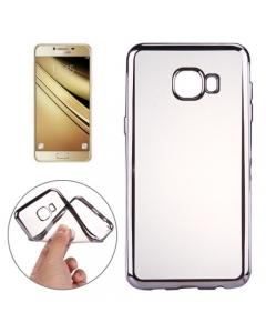 Capa Ultra Slim Gel Samsung A3 2017 Transparente / Preto