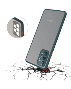 Capa Samsung Galaxy A32 5G Hibrida Shadow Verde