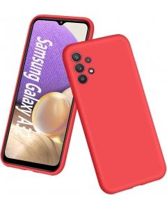 Capa Samsung Galaxy A32 5G Silky Vermelho