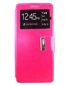 Capa Flip Samsung Note 8 Rosa c/ Apoio e Janela