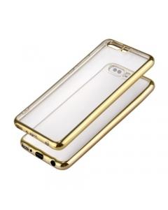 Capa Ultra Slim Huawei P10 Plus Transparente / Dourado