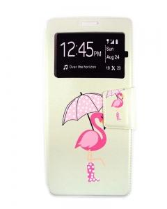 Capa Flip Samsung Note 8 Flamingo c/ Apoio e Janela
