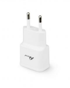 Adaptador de Corrente com 2 saídas USB 2100 mAh Branco
