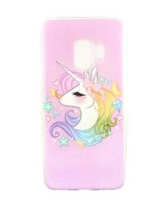Capa Gel Style Samsung Galaxy S9 Unicorn Pink