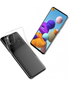 Capa Samsung Galaxy A21s Gel Ultra Slim Transparente