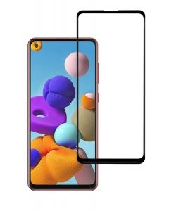 Película Vidro Temperado 5D Full Samsung Galaxy A21s Preto