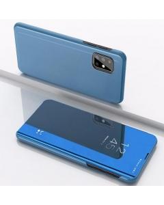 Capa Samsung Galaxy A41 Flip S-View Azul