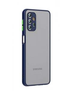 Capa Samsung Galaxy A72 5G Hibrida Shadow Azul