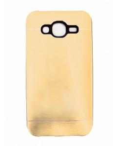 Capa Metal Samsung Galaxy J5 Dourado