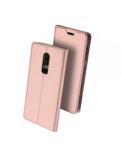 Capa OnePlus 6 Flip DX Rosa c/ Apoio