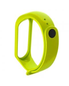 Pulseira Silicone Xiaomi Mi Band 5 Smartband Verde Fluorescente
