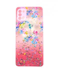 Capa Samsung Galaxy A31 Hibrida Style Florido Rosa