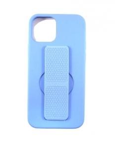 Capa Iphone 12 Pro Silky Azul com apoio