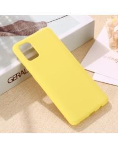 Capa Samsung Galaxy A41 Silky Amarelo