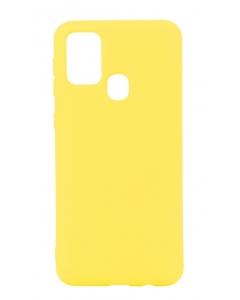 Capa Samsung Galaxy A21s Silky Amarelo