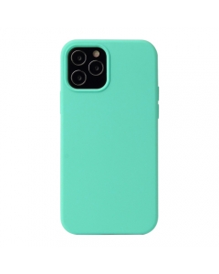 Capa Iphone 12 Pro Silky Verde Água