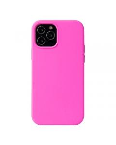 Capa Iphone 12 Pro Silky Rosa Choque