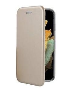 Capa Samsung Galaxy S21 Ultra Flip Lux Dourado