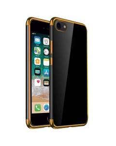 Capa Iphone SE 2020 Gel Eletro Dourado