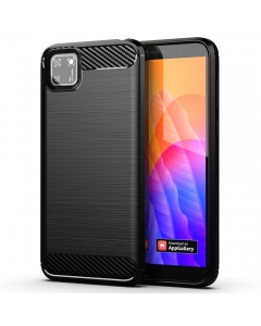 Capa Huawei Y5P Gel Carbono Preto