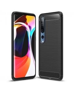 Capa Xiaomi Mi 10 Gel Carbono Preto