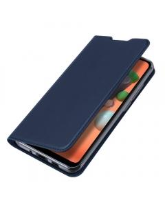 Capa Samsung Galaxy A11 Flip DX Azul c/ Apoio