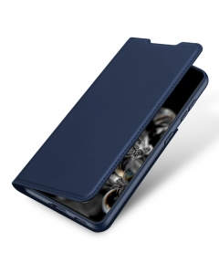 Capa Samsung Galaxy S21 Flip DX Azul c/ Apoio